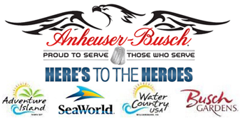 Free Admission To SeaWorld, Busch Gardens + More For Military