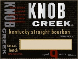 knob creek labels