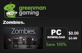 green gaming zombies