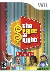 price is right wii